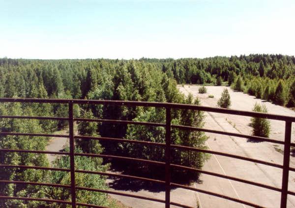 Verlaten Keimola Circuit - Uitzicht vanaf de wedstrijdtoren