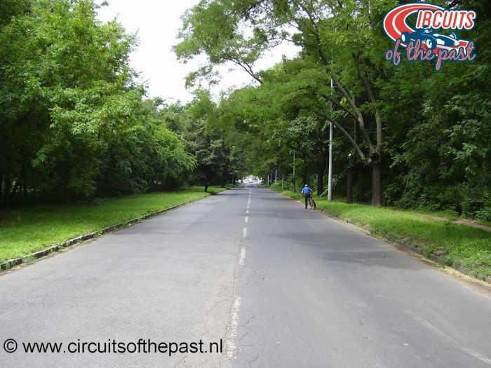 Népliget Boedapest - Circuit Grand Prix Hongarije 1936 - Start/Finish Vajda Péter utca