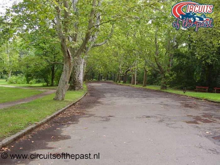 Népliget Boedapest - Circuit Grand Prix Hongarije 1936