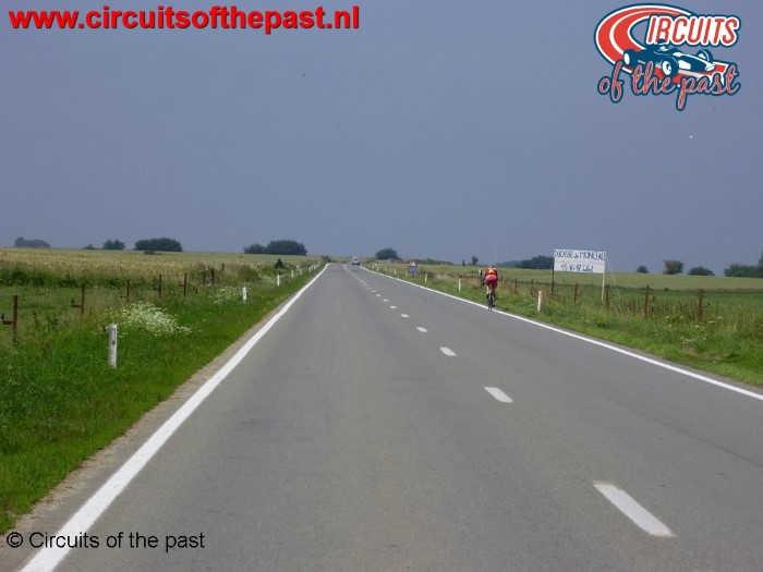 """Oude Circuit Chimay - """"Ligne droite de Salles"""""""