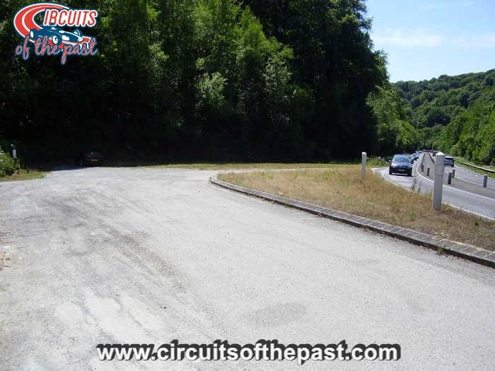 Circuit Rouen-les-Essarts - Chicane in Six Freres