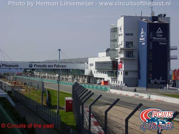Nürburgring Grand Prix Strecke - Start/Finish