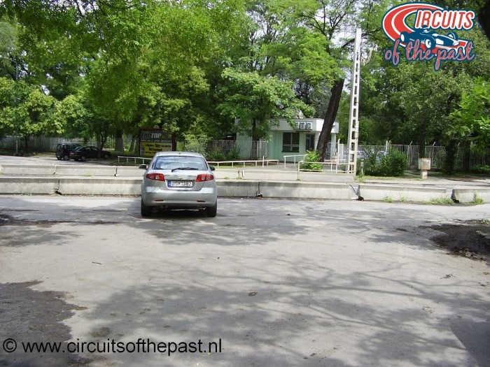 Het stratencircuit in Népliget Park, Boedapest - Laatste bocht