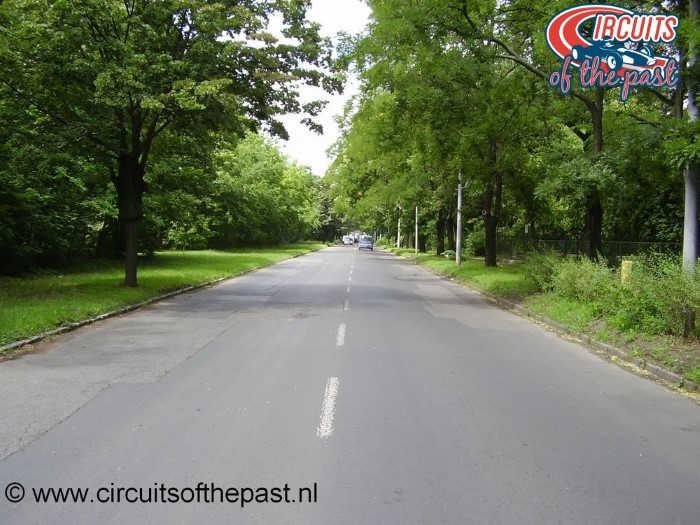 Circuit Népliget Park - Start/Finish