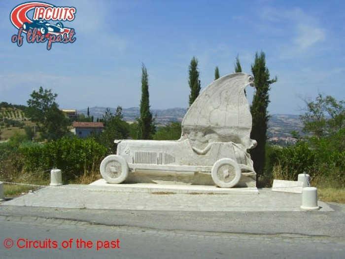 Circuit Pescara - Monuement