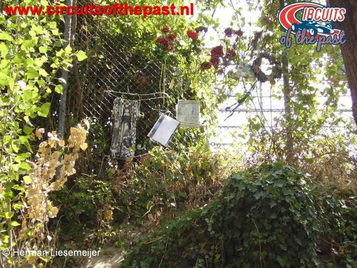 Imola Circuit Tamburello - De plek waar Ayrton Senna verongelukte