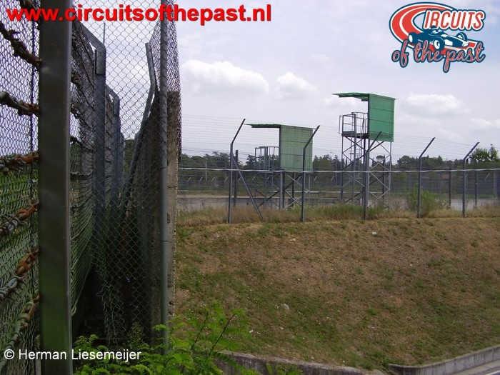 Imola Circuit Villeneuvebocht - De plek waar Roland Ratzenberger verongelukte