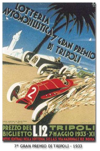 1933 Tripoli Grand Prix en loterij