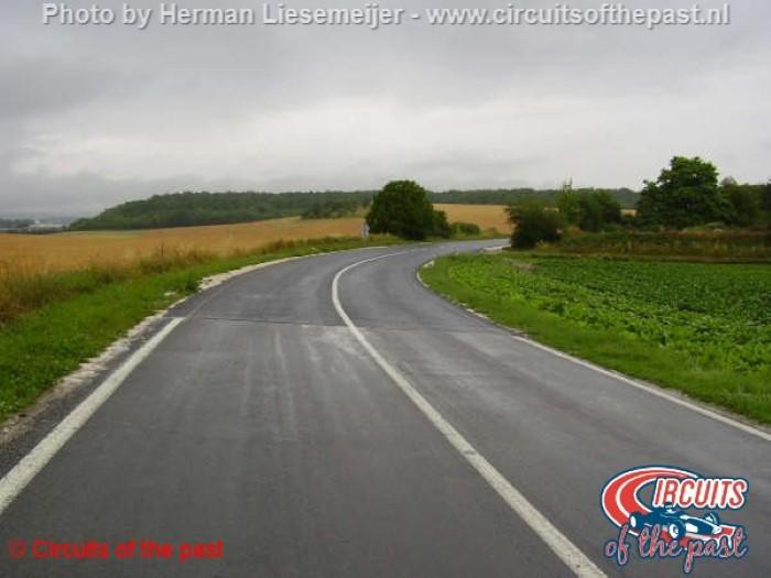 Circuit Reims-Gueux - Snelle bocht