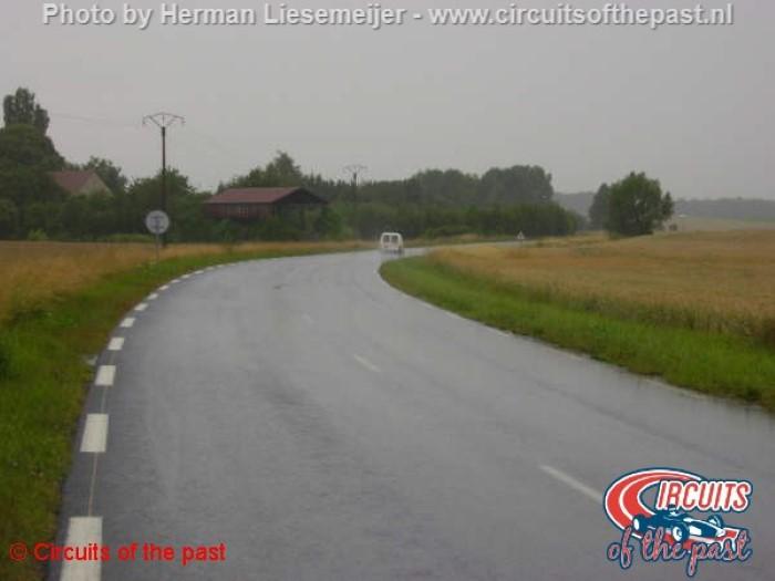 Circuit Reims-Gueux - Courbe de Gueux
