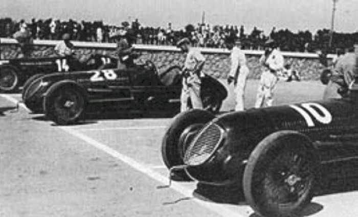 Tripoli Circuit - Start van de Tripoli Grand Prix van 1938