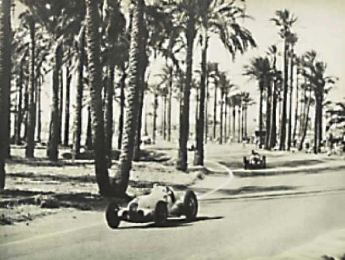 Tripoli Circuit - Mercedes