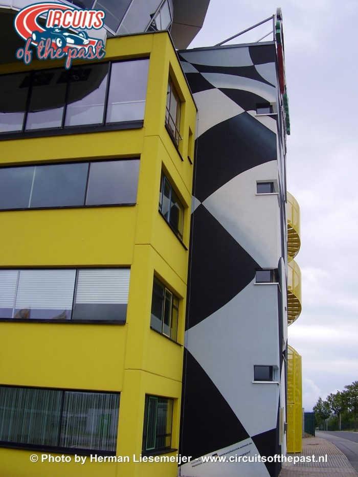 Sachsenring - De nieuwe wedstrijdtoren
