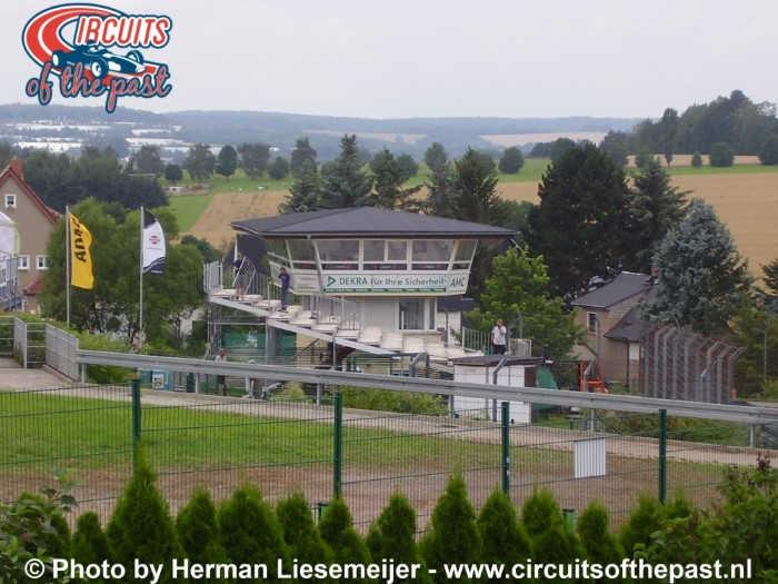 Sachsenring - De oude wedstrijdtoren