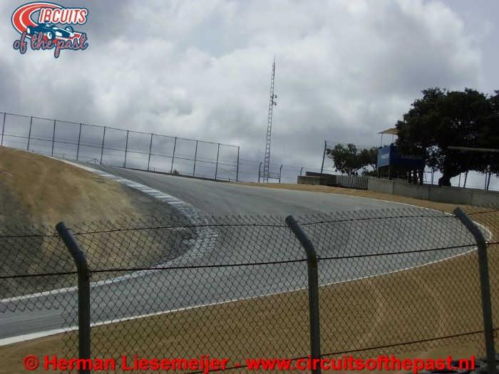 Laguna Seca Raceway - Corkscrew Corner
