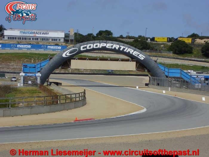 Laguna Seca Raceway - Uitbreiding van 1988