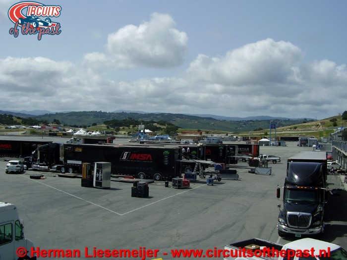 Laguna Seca Raceway - Paddock