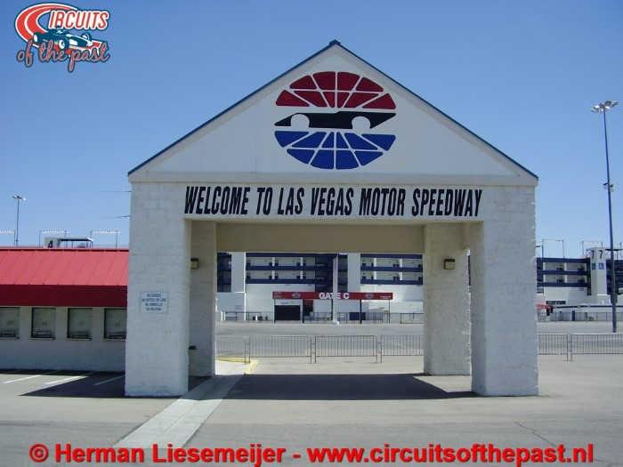 Las Vegas Motor Speedway Ingang