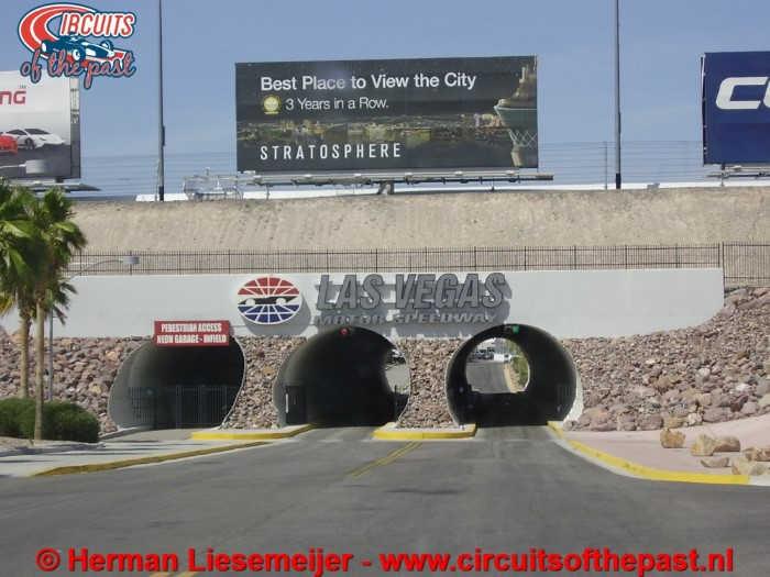 Las Vegas Motor Speedway Tunnel