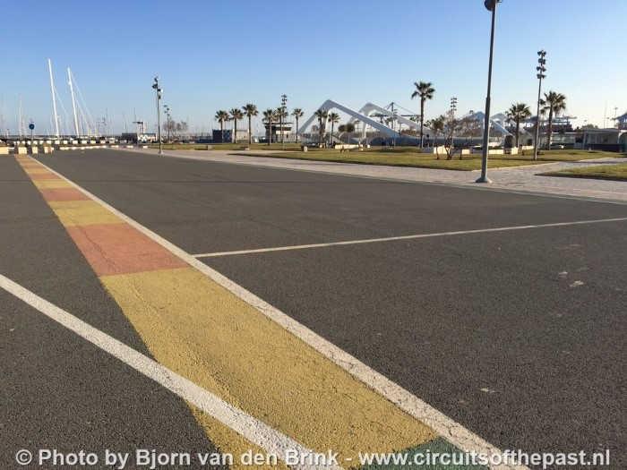Valencia Stratencircuit F1
