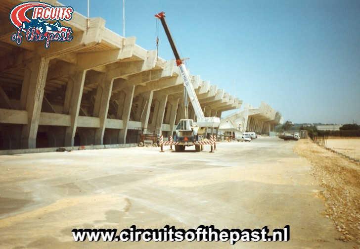Autódromo do Estoril 1999 - Achterkant tribune